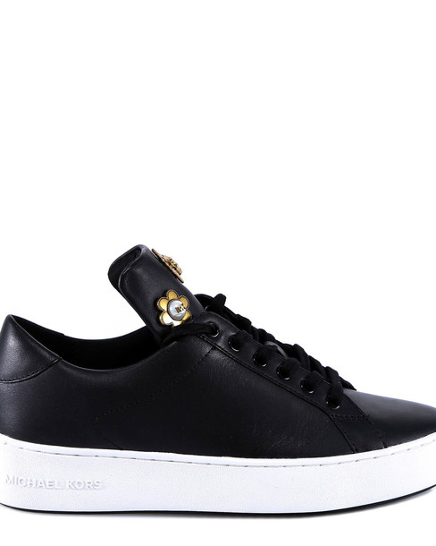 Michael Kors Mindy Lace Up Sneakers in black