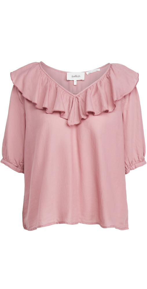 Ba & sh Twiggy Blouse in pink