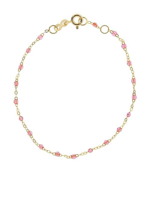 Gigi Clozeau 18kt yellow gold Classic Gigi rose beaded bracelet