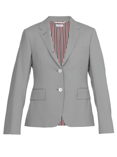 Thom Browne Single-breasted Jacket in grey