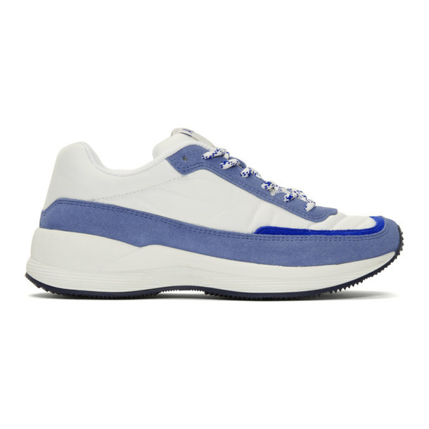 A.P.C. A.P.C. Grey & White Running Femme Sneakers