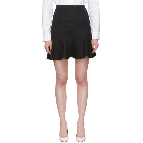 Isabel Marant Black Kelly Miniskirt