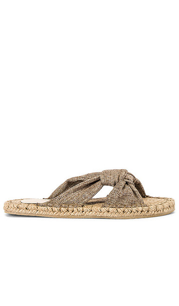 House of Harlow 1960 x REVOLVE Ebony Sandal in Taupe