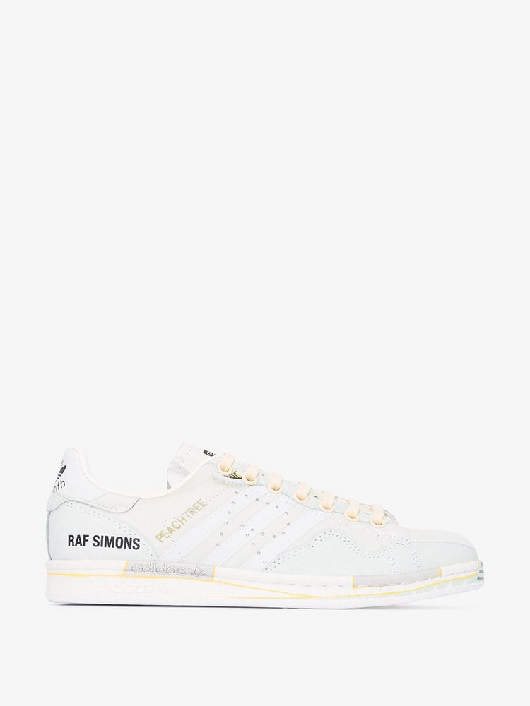 Adidas By Raf Simons Stan Smith printed sneakers in white