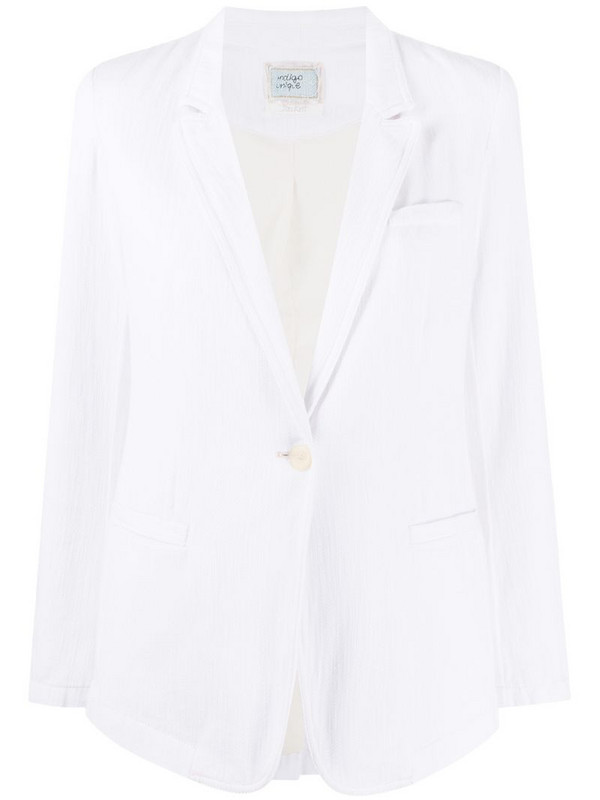 Forte Forte single-breasted tailored blazer in white