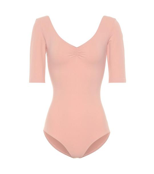 Ernest Leoty Isaure bodysuit in pink