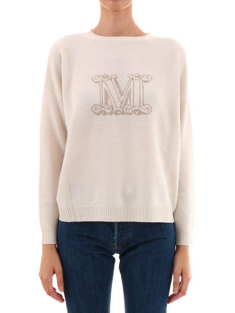 Max Mara Cashemire Sweater in white