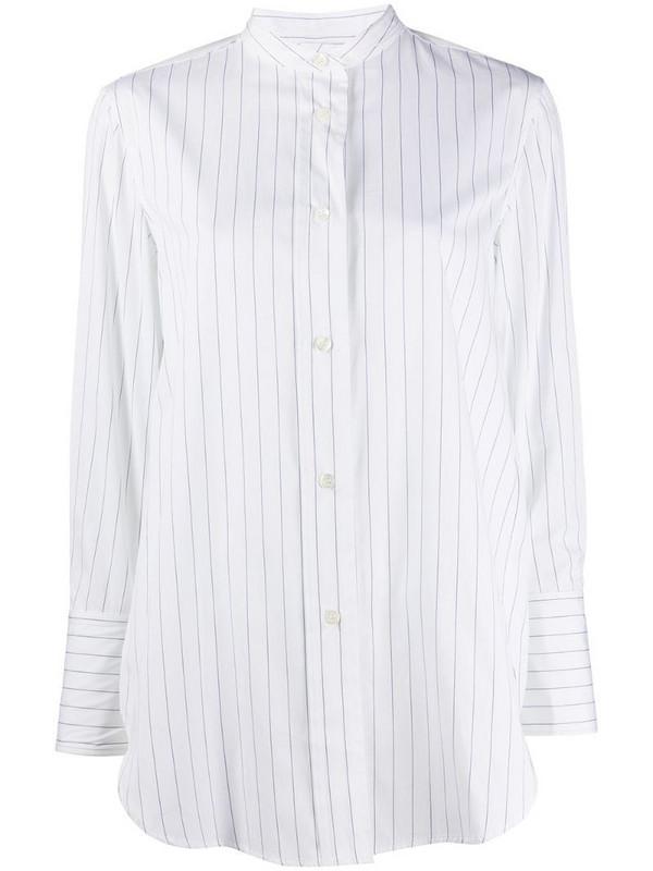 Aspesi oversized striped shirt in white