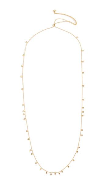 Gorjana Chloe Mini Long Necklace in gold