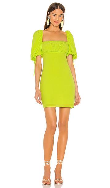 Lovers + Friends Lovers + Friends Hattie Mini Dress in Green