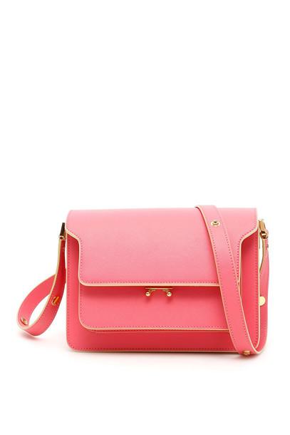 Marni Trunk Bag in pink / fuchsia