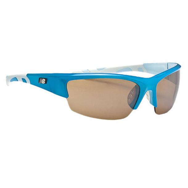 New Balance Men's & Women's Lightweight Impact Sunglasses - Blue, White (NB777-1)