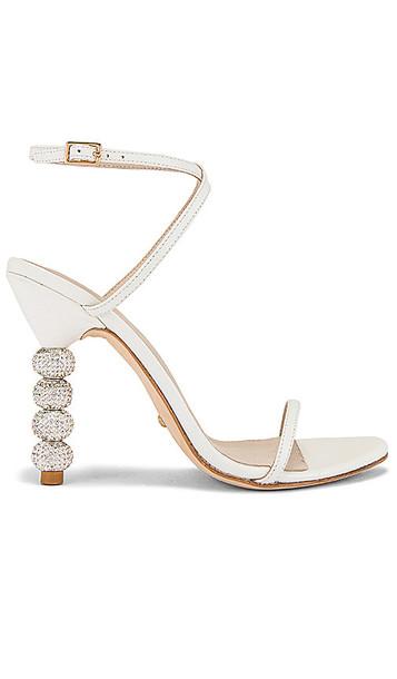 RAYE Ax Heel in White