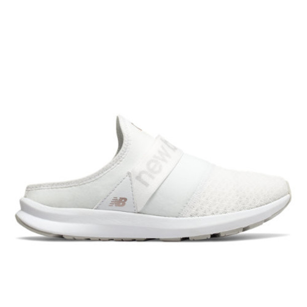 New Balance FuelCore Nergize Mule Women's Sport Style Shoes - White/Grey (WLNRMLM1)