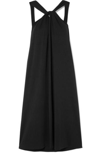 Skin - Samira Twisted Cotton-jersey Dress - Black