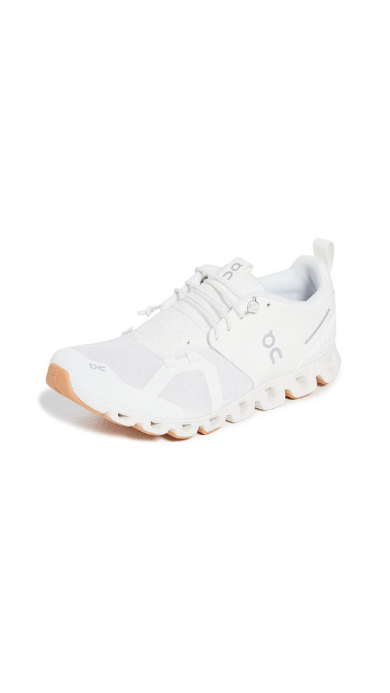 On Cloud Terry Sneakers in white