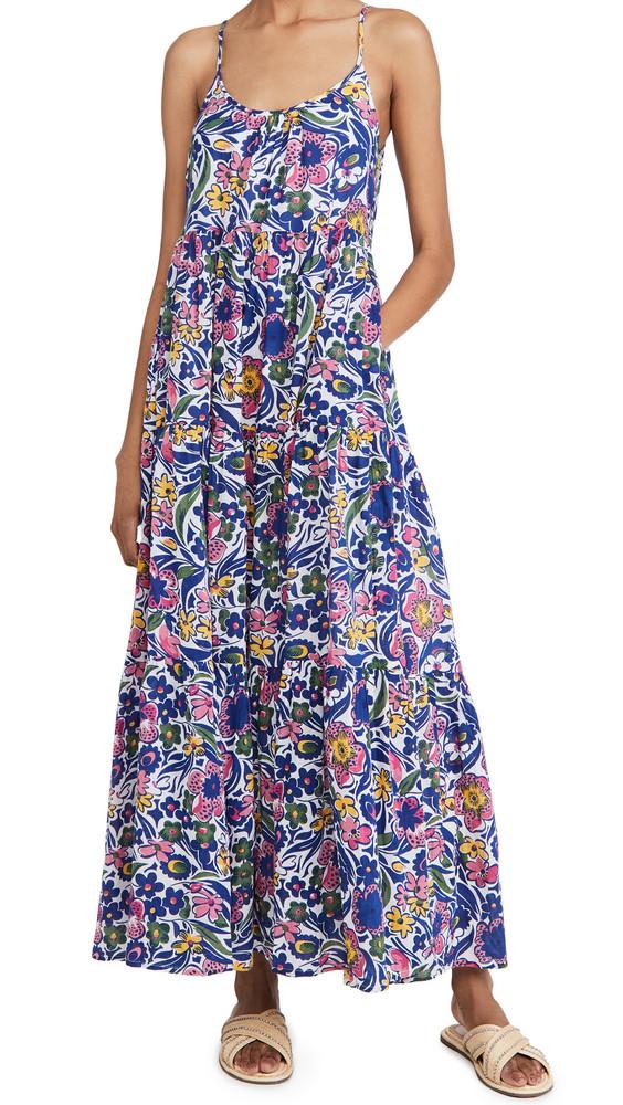 Roller Rabbit Chachas Dakota Maxi Dress in purple