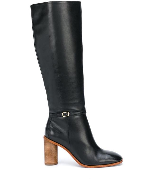 Kurt Geiger London Ruby knee-length boots in black