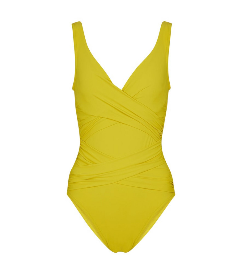 Karla Colletto Exclusive to Mytheresa – Smart swimsuit in yellow