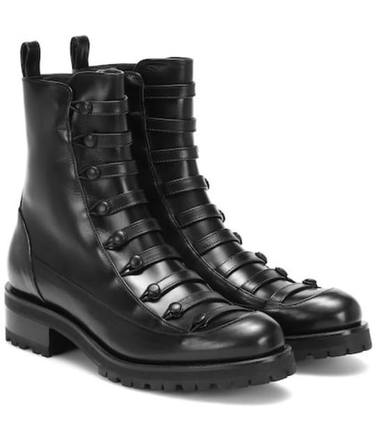 Rupert Sanderson Dresden leather ankle boot in black