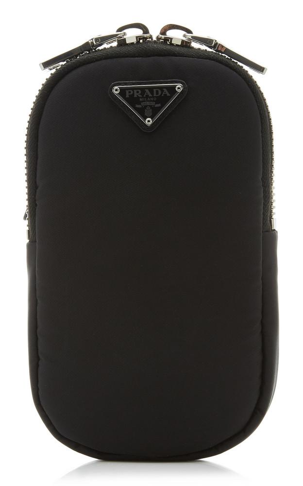 Prada Nylon Cargo Mini Bag in black