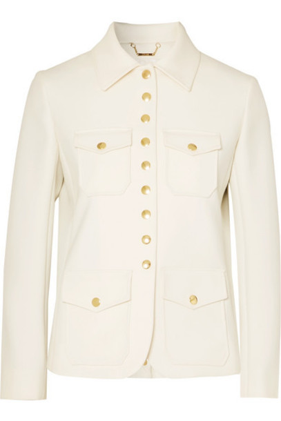 Chloé Chloé - Twill Jacket - White