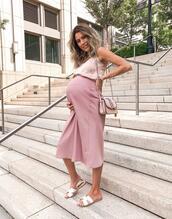 hello fashion,blogger,tank top,skirt,jewels,shoes,maternity,flat sandals,midi skirt
