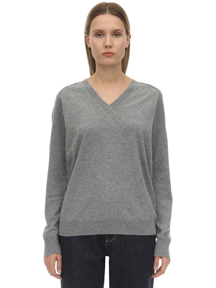 FALKE Super Soft Cashmere Sweater in grey