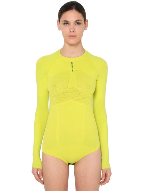 UNRAVEL Technical Seamless Stretch Body in yellow