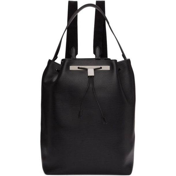 The Row Black Large II Backpack