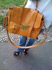 satchel,mulberry,orange bag,brown bag,bag