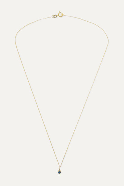 STONE AND STRAND - Birthstone Gold Multi-stone Necklace