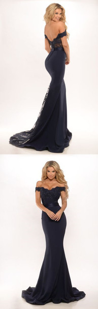 dress prom dress mermaid prom dress bridesmaid evening dress black dress wedding party dress