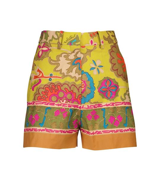 Valentino Exclusive to Mytheresa – Printed cotton shorts