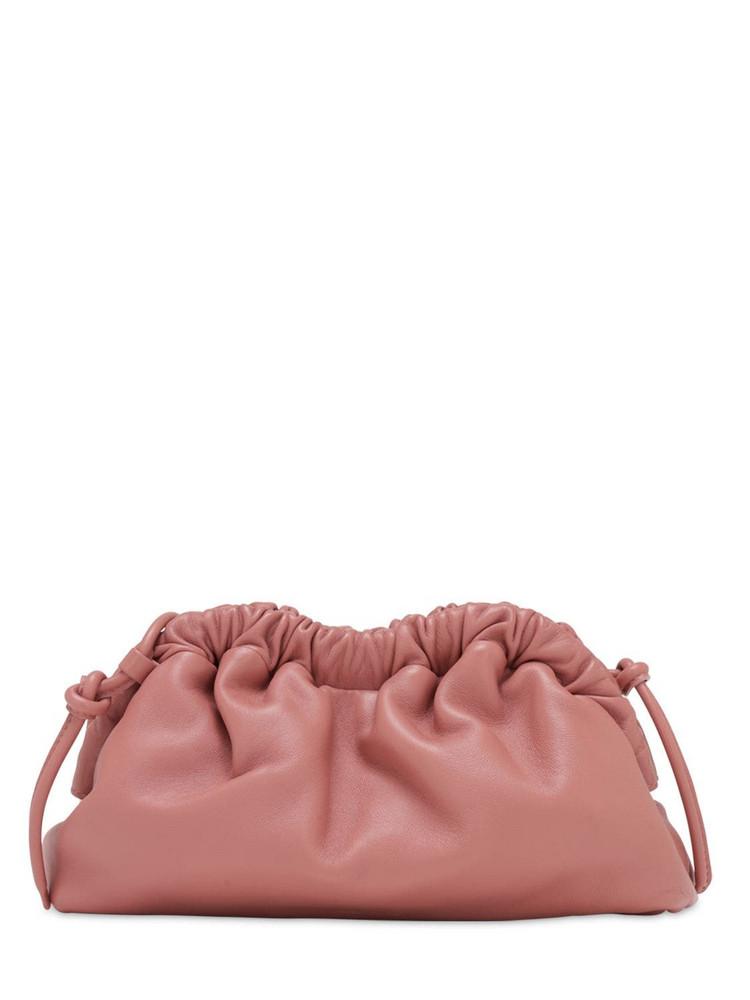 MANSUR GAVRIEL Mini Cloud Leather Clutch in blush