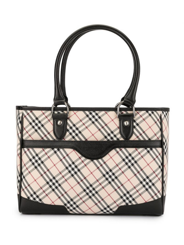 Burberry Pre-Owned Classic Check tote bag in white