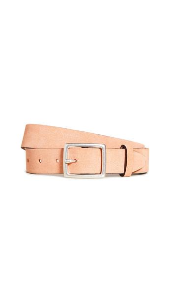 Rag & Bone Boyfriend Belt in peach
