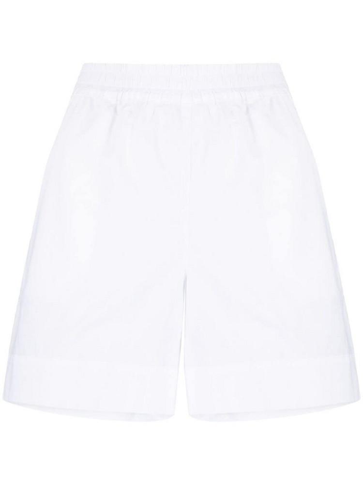 P.A.R.O.S.H. P.A.R.O.S.H. Canyo cotton shorts - White