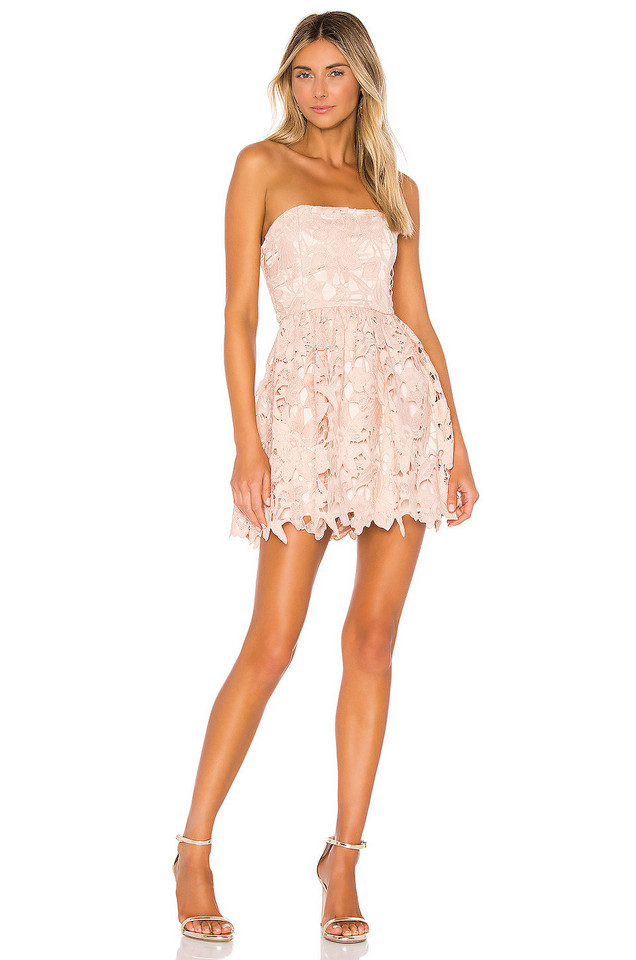 Michael Costello x REVOLVE Tate Dress in pink