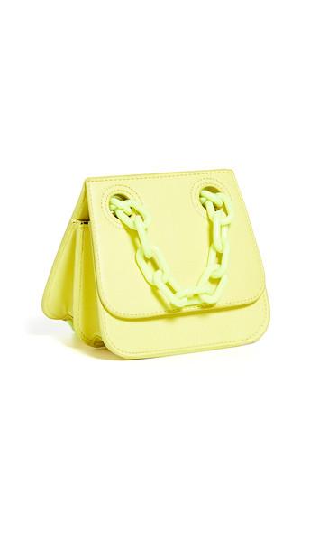 Studio 33 Woke Flap Shoulder Bag in yellow