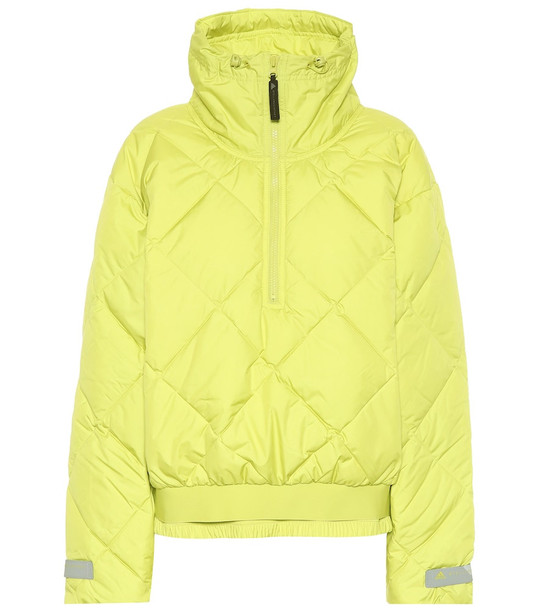 Adidas by Stella McCartney Quilted jacket in green