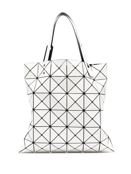 Bao Bao Issey Miyake Lucent Matte tote bag in white