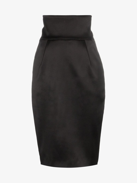 Alexandre Vauthier high-waisted pencil skirt in black