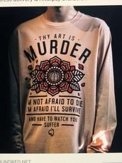 shirt,thy art is murder¨