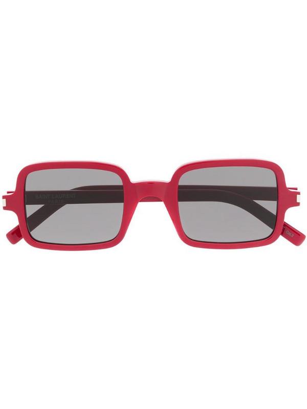 Saint Laurent Eyewear SL 332 square-frame sunglasses in red