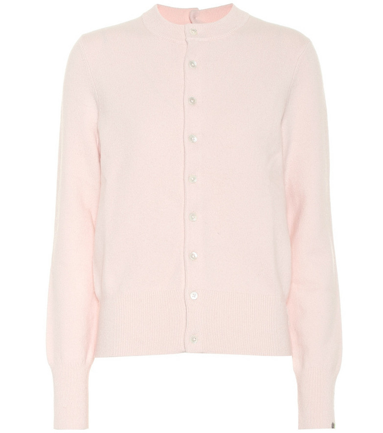 Extreme Cashmere Little Game cashmere-blend cardigan in pink