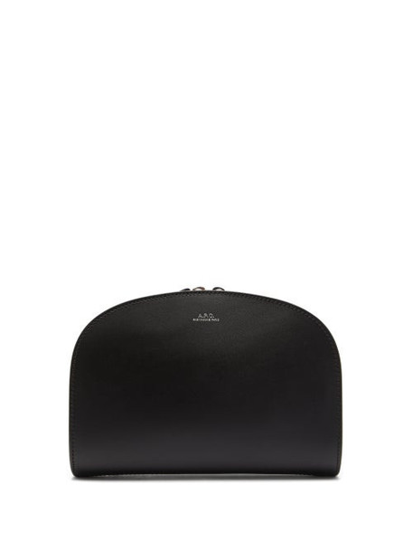 A.P.C. A.p.c. - Half Moon Leather Belt Bag - Womens - Black