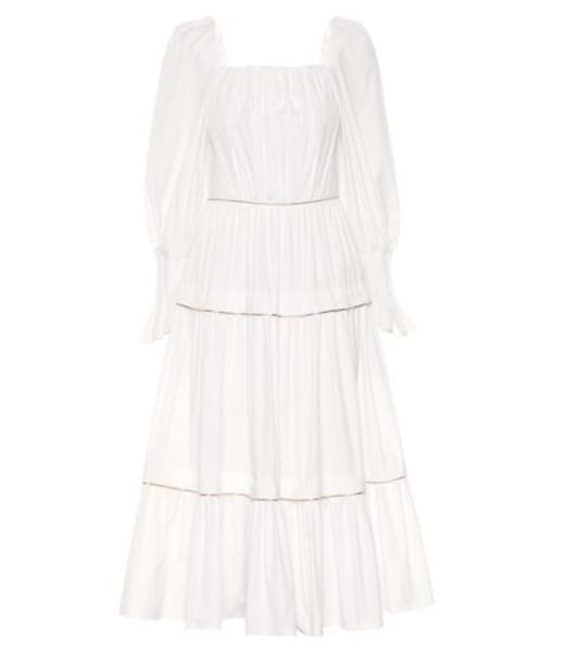 Peter Pilotto Cotton maxi dress in white