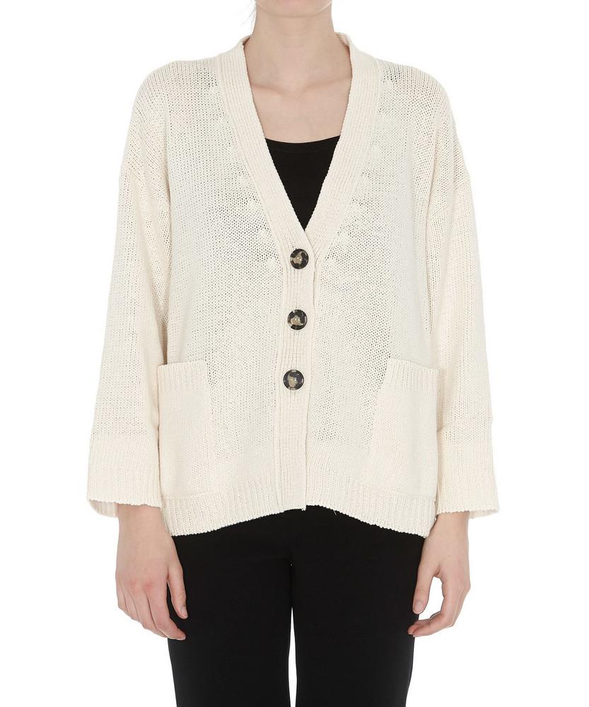Theory Sempra Drape Long-Sleeve Sweater