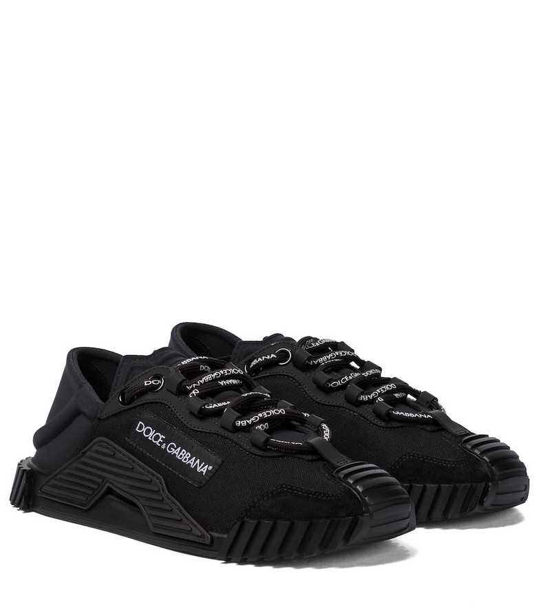 Dolce & Gabbana NS1 lace sneakers in black